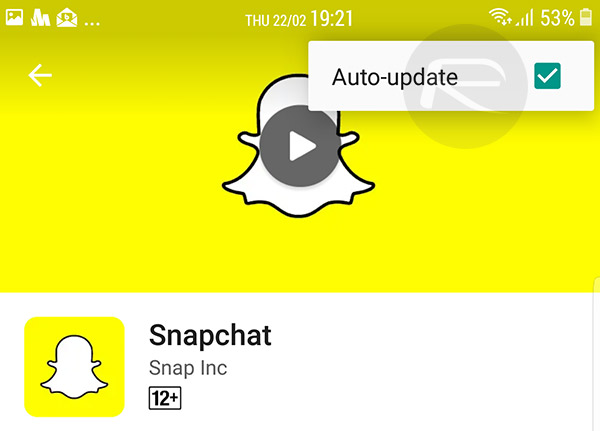 snapchat version 10.22.7.0 ios