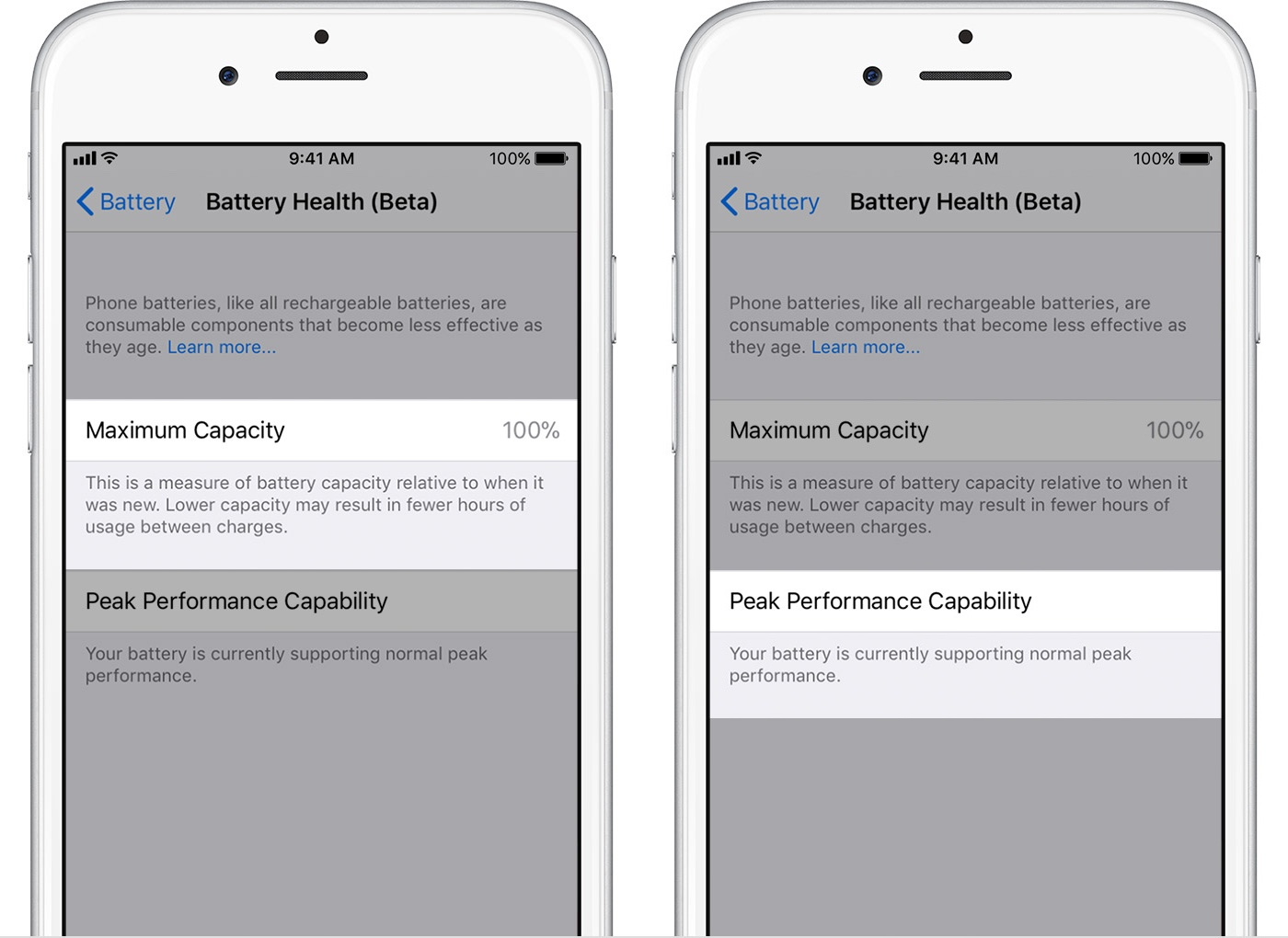Check iOS 11 3 Battery Health, Enable Or Disable CPU