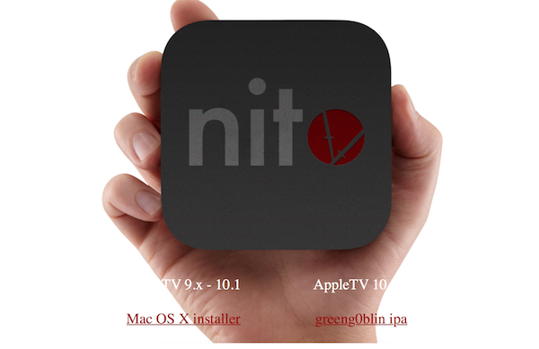Download Greeng0blin Jailbreak IPA For Apple TV 4 tvOS 10 2 2 With