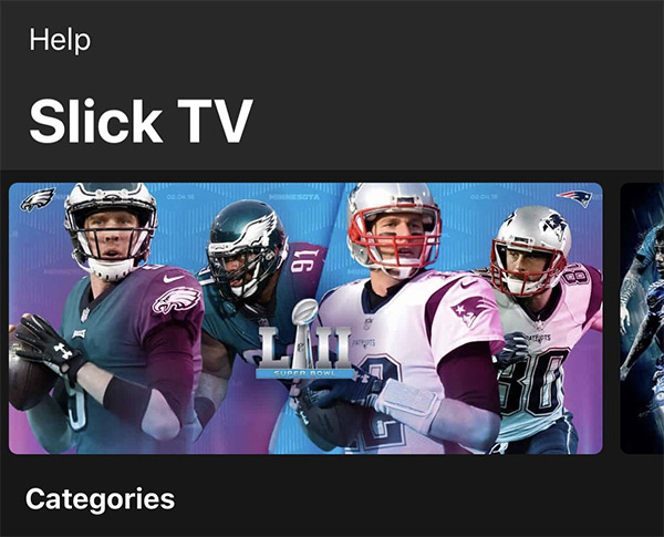 Download Slick TV IPA, APK For iOS 11, Android For Live TV | Redmond Pie