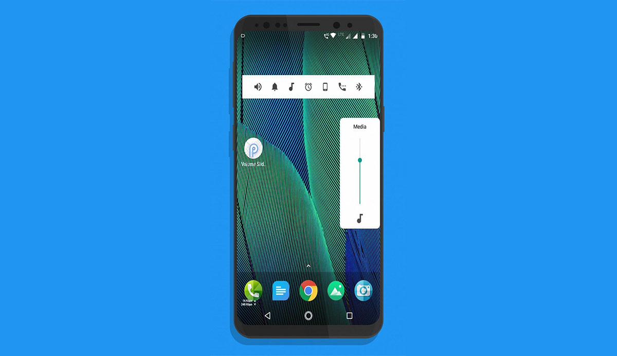 Android P Volume Slider APK Download On Any Android 4 1+