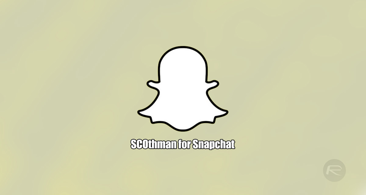 SCOthman Snapchat IPA For iOS 11 Download Released [No Jailbreak