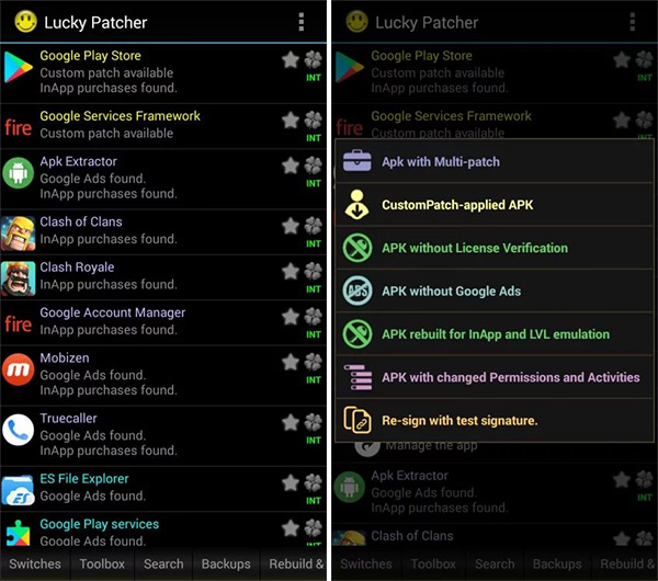Lucky Patcher APK Download 2018 For Android With No Root Or