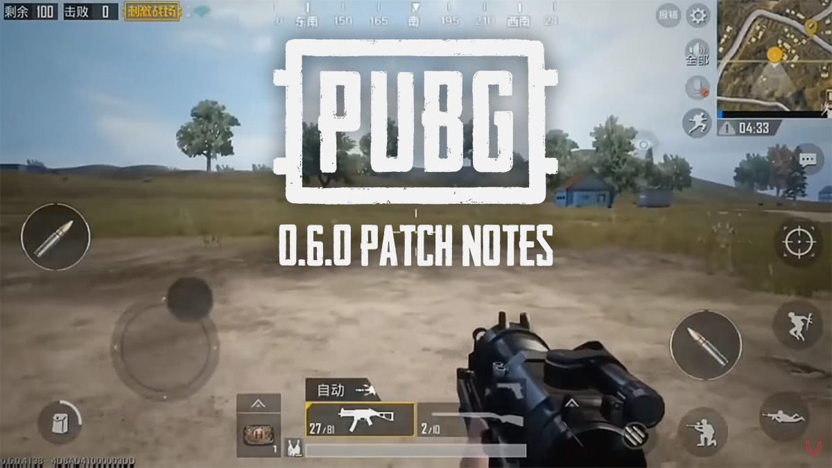 Pubg Mobile 0 6 0 Patch Notes Release Date Time Frame Teased