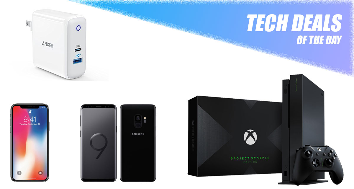 Tech Deals Xbox One X Project Scorpio Edition 100 Discount On