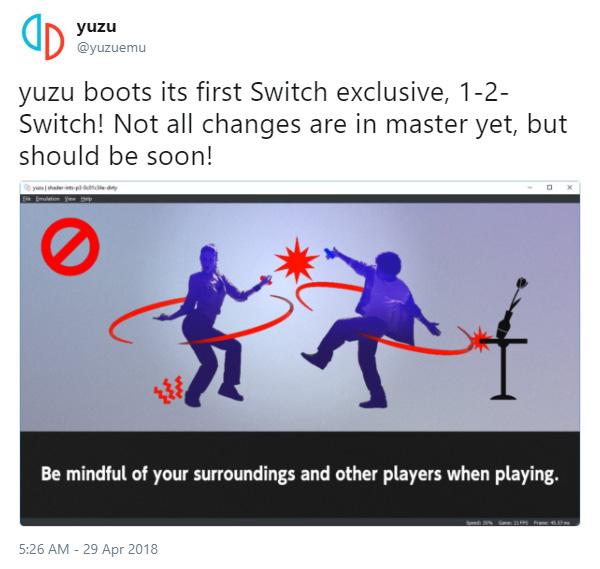 yuzu Nintendo Switch Emulator For Mac, Windows Can Already