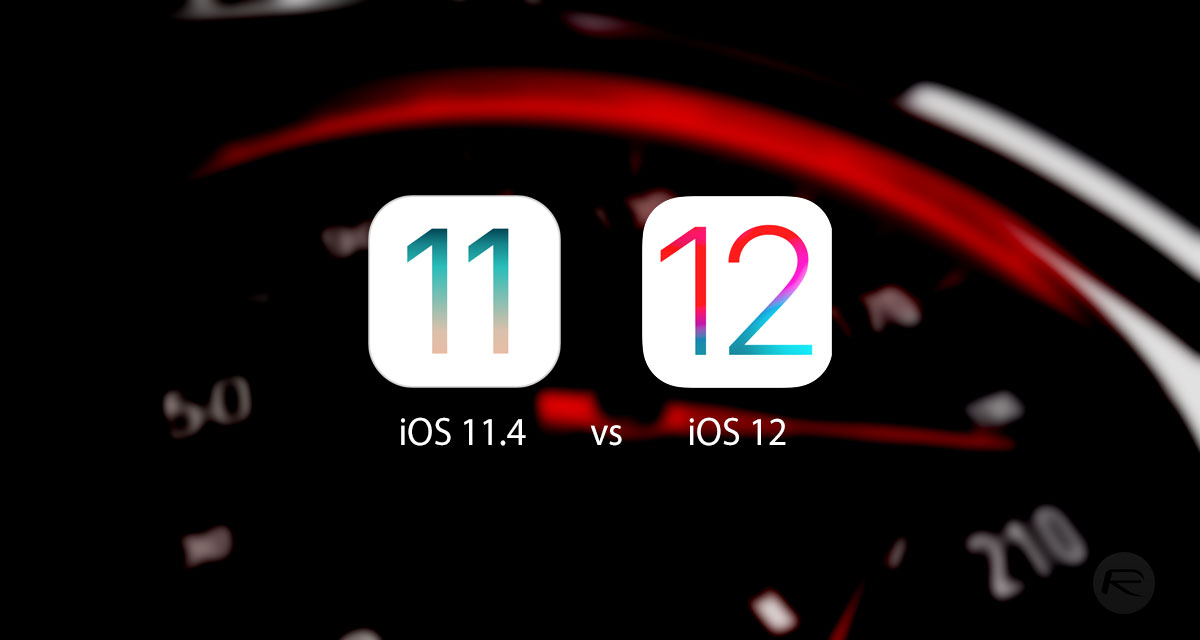 iOS 12 Beta 1 Vs iOS 11 4 Speed Test On iPhone 8, 7, 6 / 6s