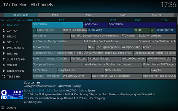 Kodi 18 Leia Alpha 2 APK Download For Android, IPA For iOS