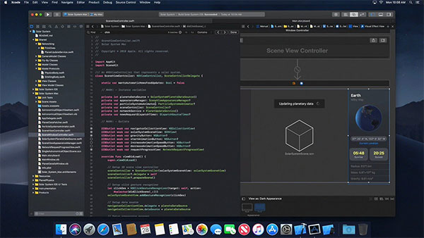 Spoiler: macOS 10 14 Video Leak Shows Dark Mode, Xcode 10, Apple