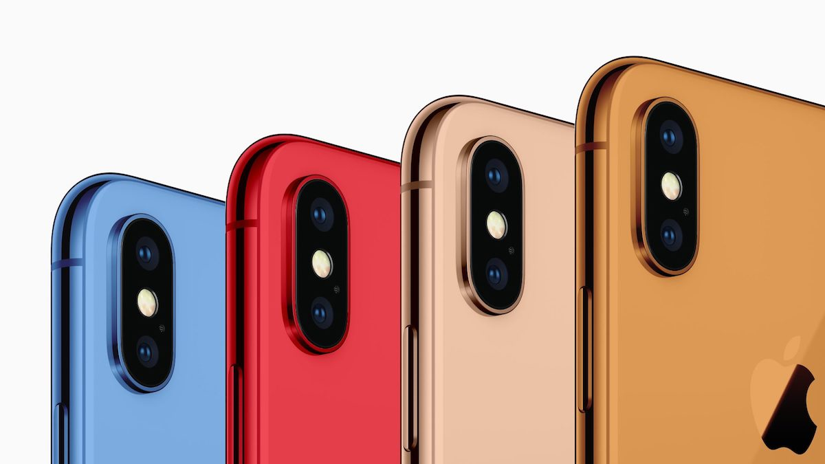 Official iPhone X cases may hint at the new iPhone 2018 colors