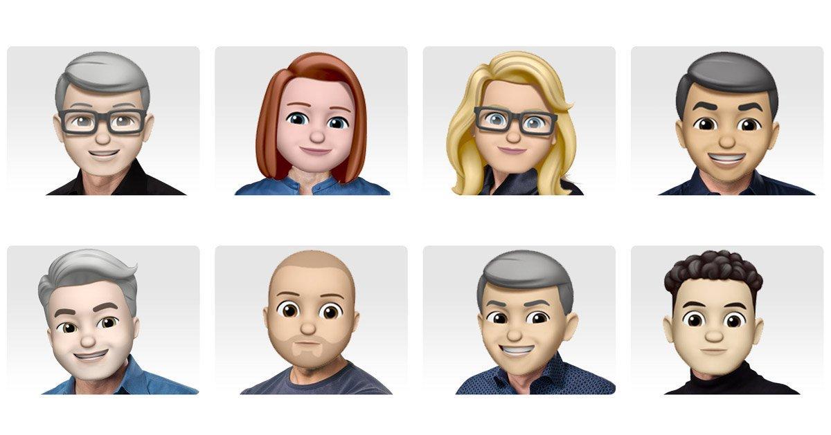 Apple's Leadership Webpage Updated With Memoji Profiles To