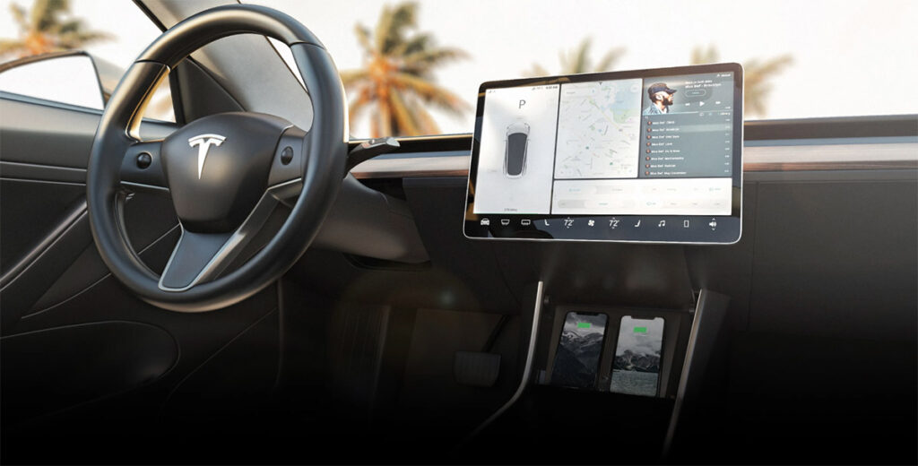 Nomad Launches Tesla Model 3 Wireless Charger For iPhone X, 8, Other