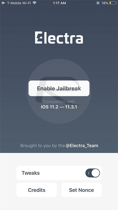 Fix Electra Enable Jailbreak With No Cydia Appearing On Home