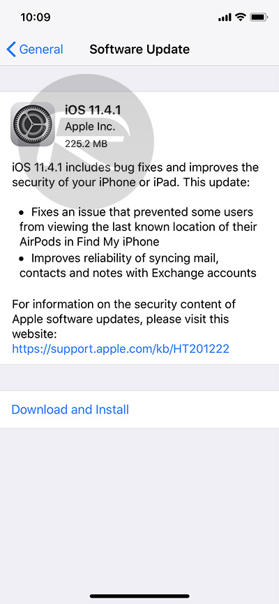 Download iOS 11 4 1 Final IPSW Links, OTA Update For iPhone