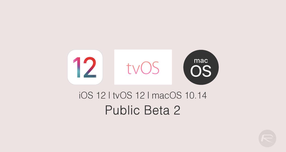 ios 12 public beta 2 release date