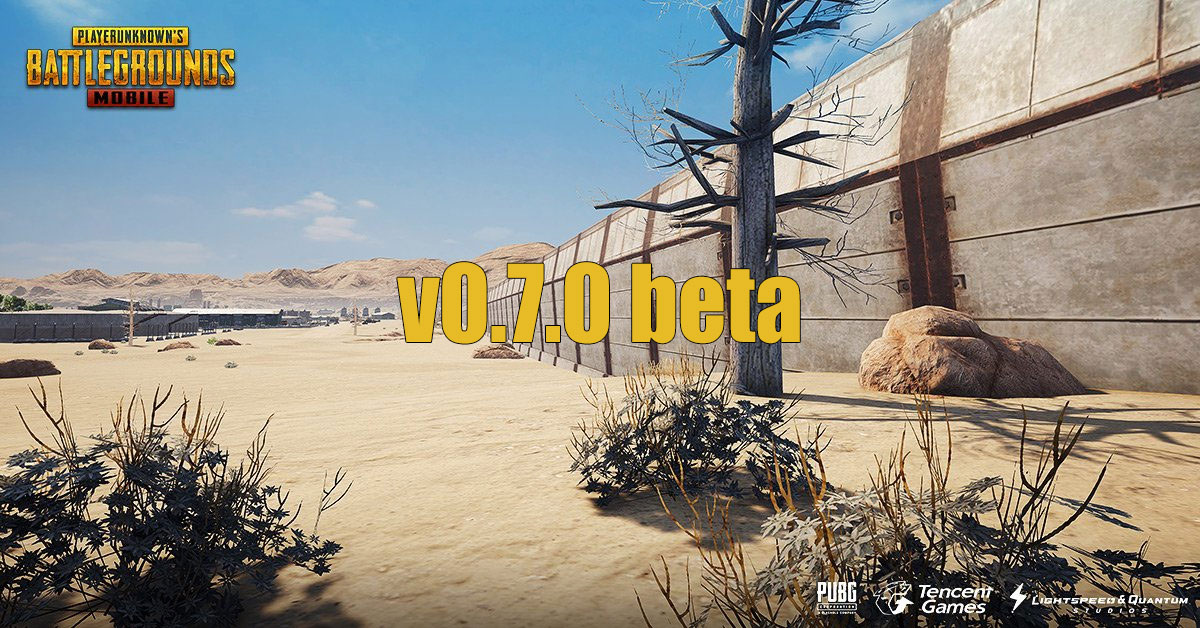 PUBG Mobile 0 7 0 Beta APK English Download For Android, iOS
