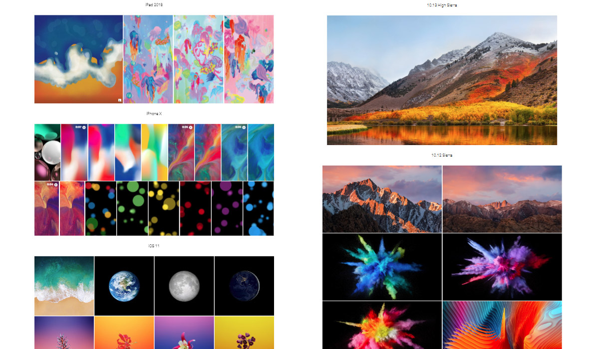 Download Every Official Apple iPhone, iPad, Mac Wallpaper