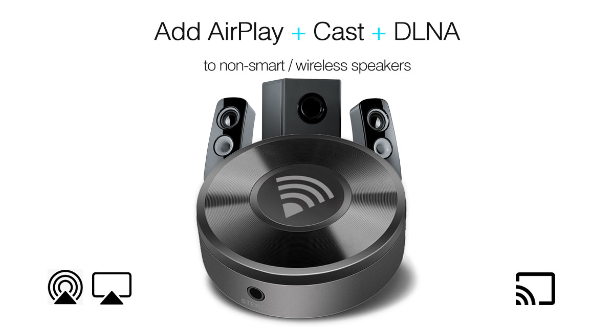 Add AirPlay And Google Cast Audio To Turn ANY Dumb Speaker