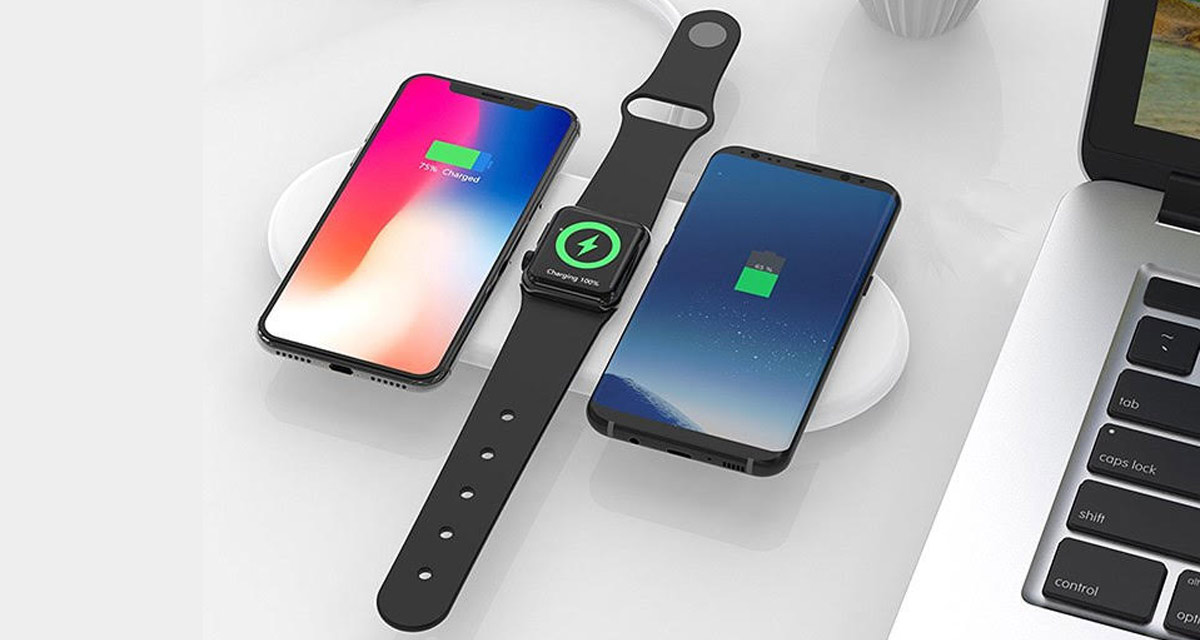 3 In 1 Airpower Alternative Fast Wireless Charger Can