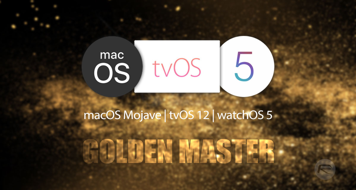 Download: GM Of tvOS 12, watchOS 5 And Beta 11 Of macOS
