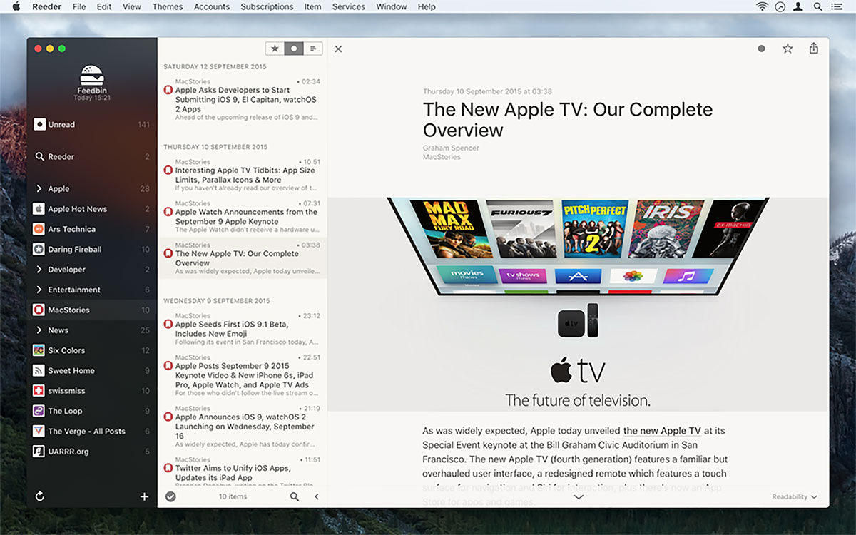 You Can Download Popular Reeder 3 App For iOS And Mac For