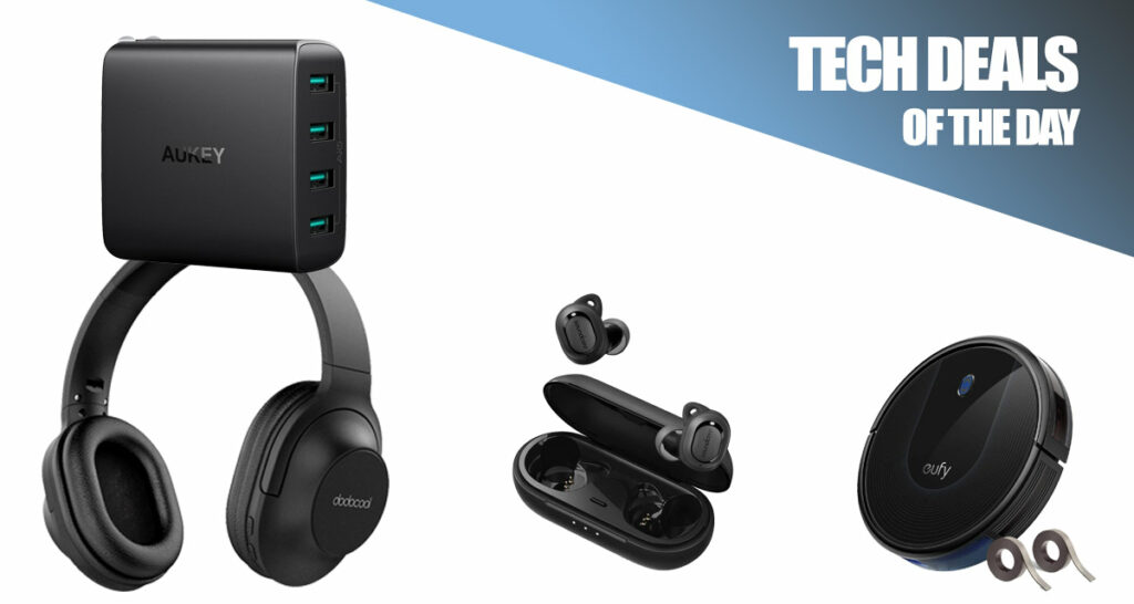 Tech Deals: $17 Noise-Canceling Wireless Headphones, $240