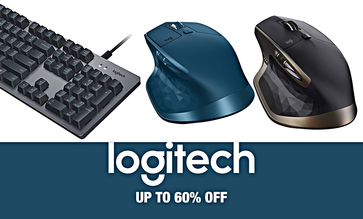 Logitech's Insane One-Day Sale: Save Up To 60% On MX Master