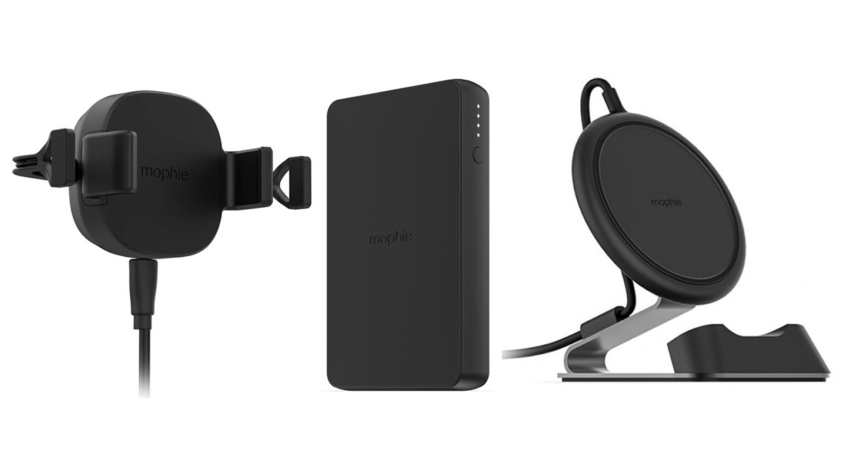 super popular e71bc f0b87 Mophie Releases New Wireless Charging Mount, Stand, And Powerbank ...