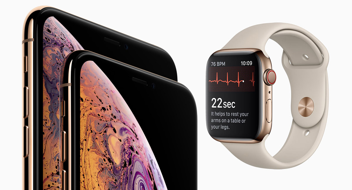 official photos e0329 0ebd9 Battery Life Of iPhone XS, XS Max, Apple Watch Series 4 Compared ...