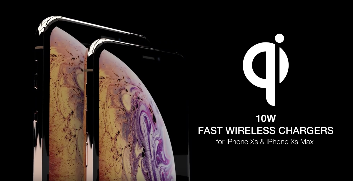iPhone Xs / Xs Max 10W Fast Wireless Charger: Here Are The