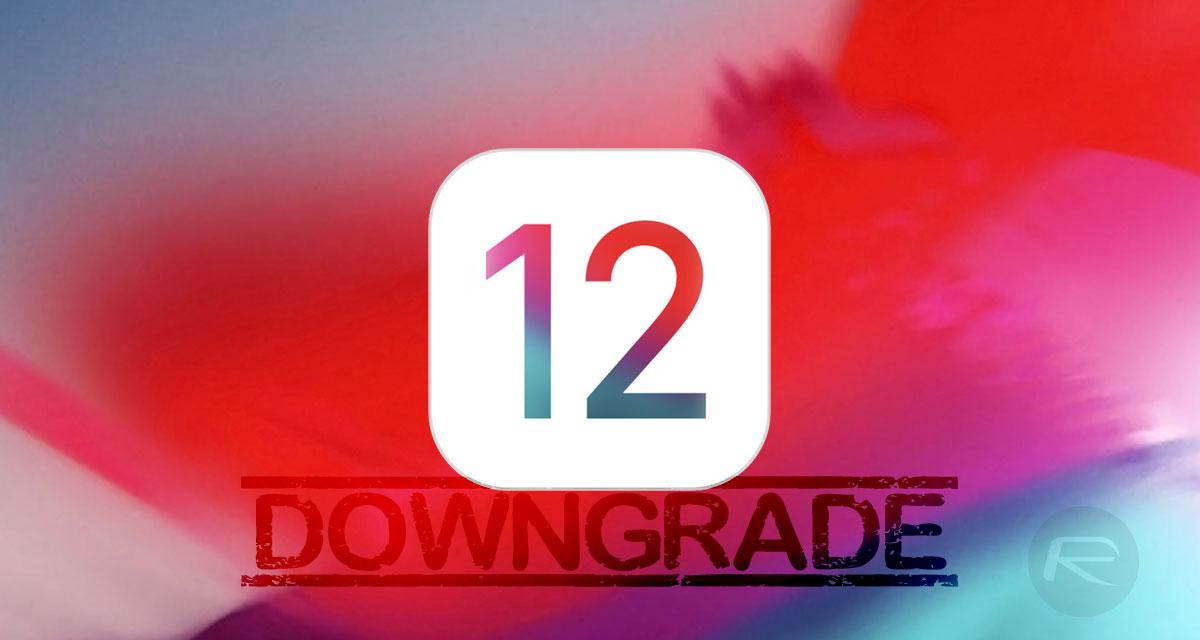 How To Downgrade iOS 12 0 1 To iOS 12 0 / 11 4 1 | Redmond Pie