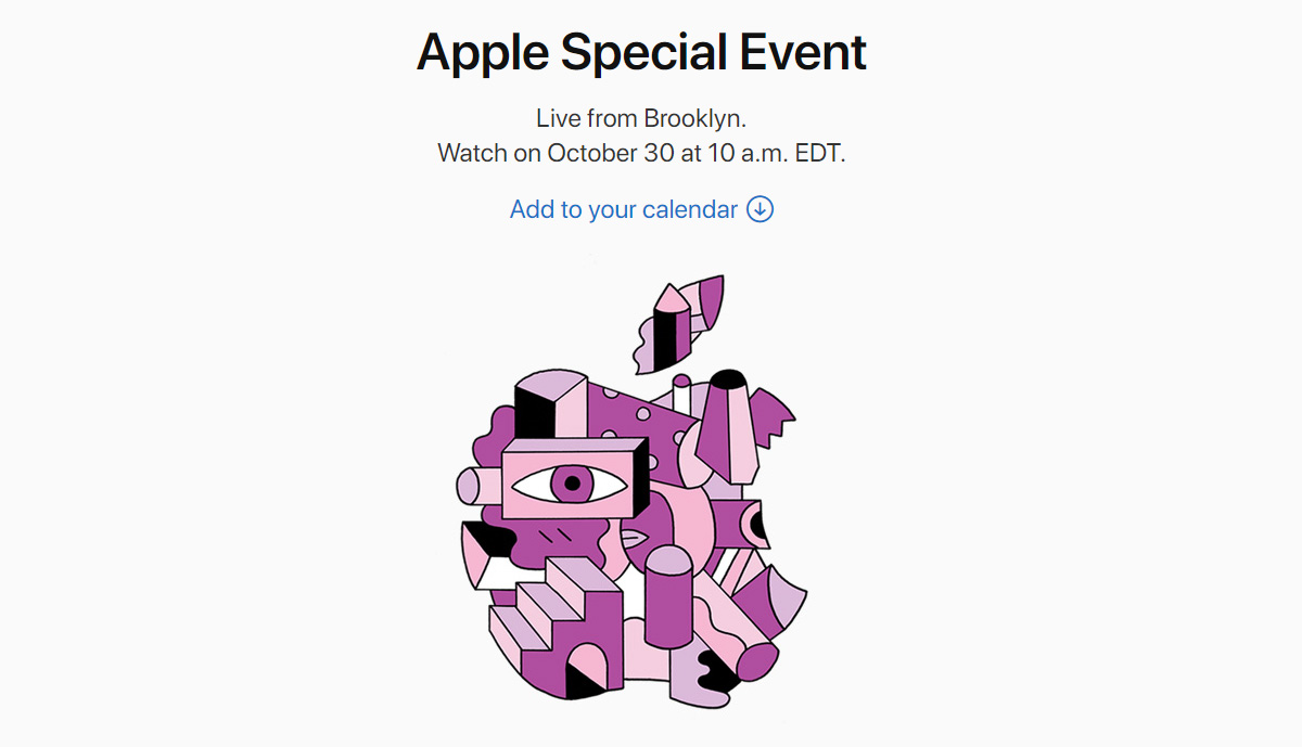live stream apple october 30 2018 ipad mac event dubbed there s