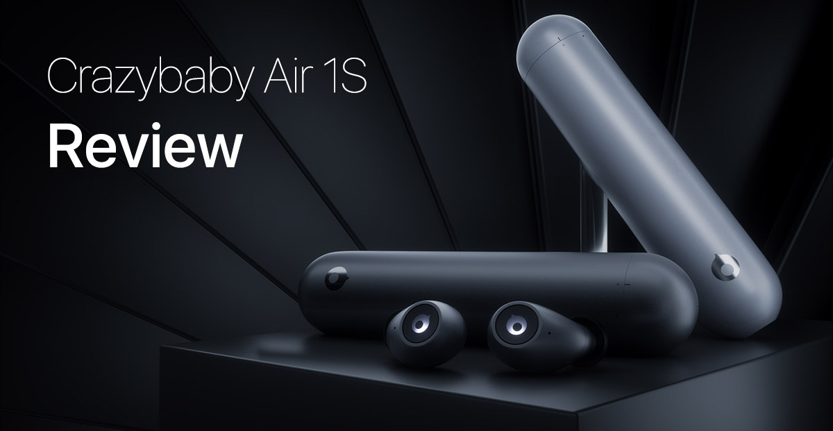 8fd9fa1efa0 ... what exactly do the Crazybaby Air 1S have to offer? Right off the bat,  it's pretty obvious that these are wireless Bluetooth 5.0 earphones and they  may ...