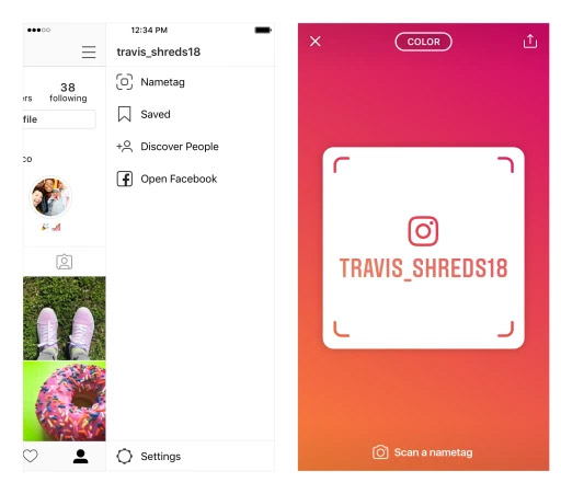 how to follow someone on instagram without request