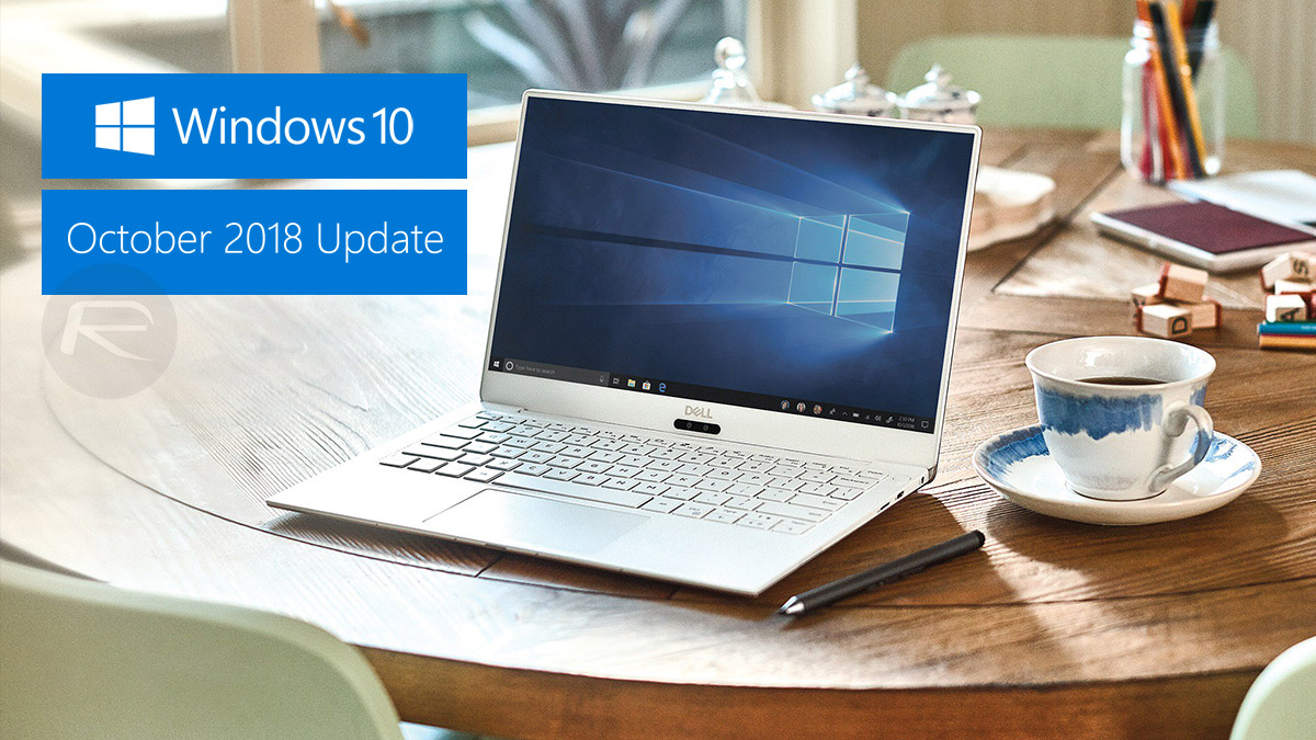 windows 10 iso update october 2018
