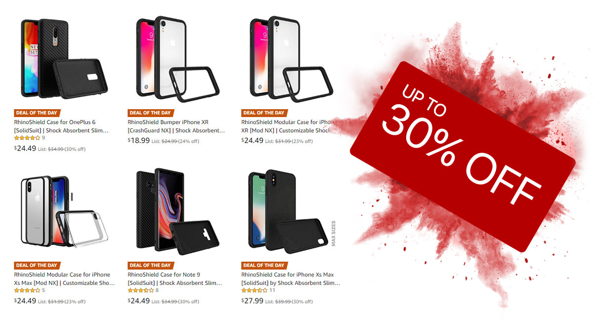 Deal Alert Up To 30 Off On Rhinoshield Cases For Iphone Xs Xs Max Xr Note 9 Oneplus 6 Redmond Pie