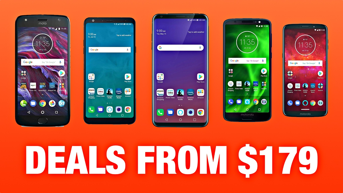 Android Smartphones On Sale Ahead Of Black Friday 2018 Deals From Just 179 99 Redmond Pie