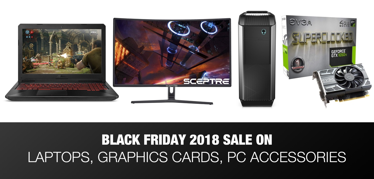 Black Friday 2018 Deals On Gaming Laptops Desktops Keyboards Mice