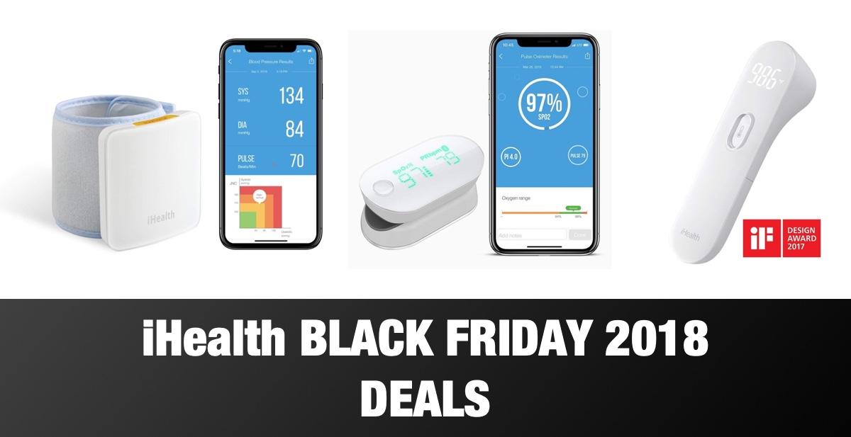 iHealth Black Friday 2018 Deals: Huge Savings On Oximeters