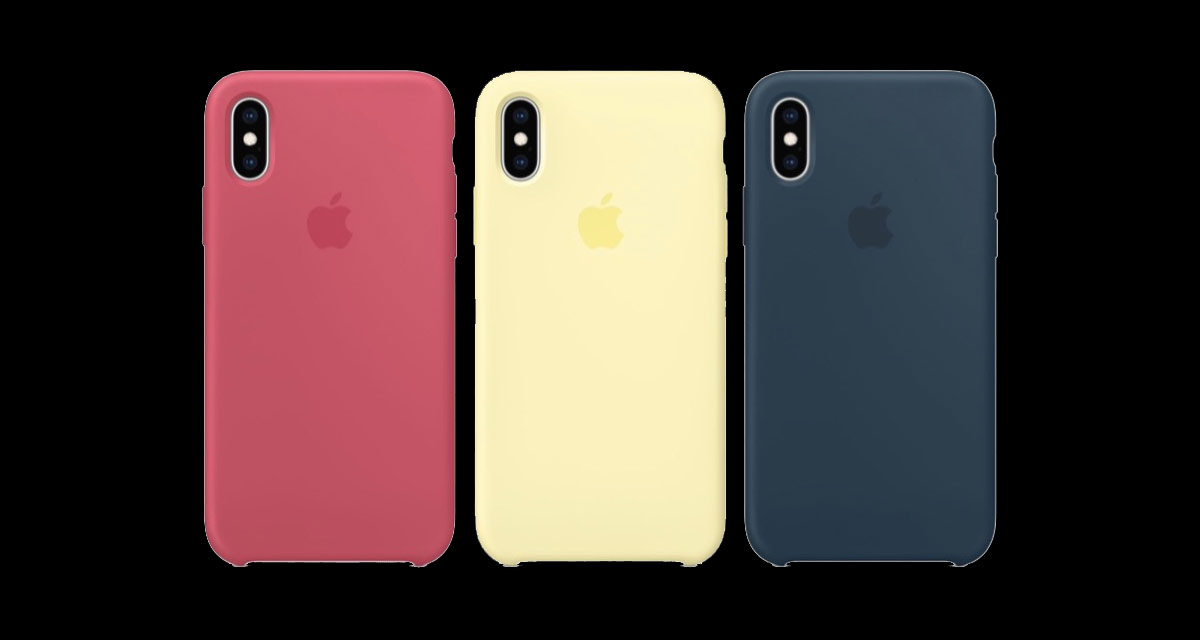 buy online 6fa41 4621c Apple Launches New Colors For iPhone XS / XS Max Silicon Cases ...