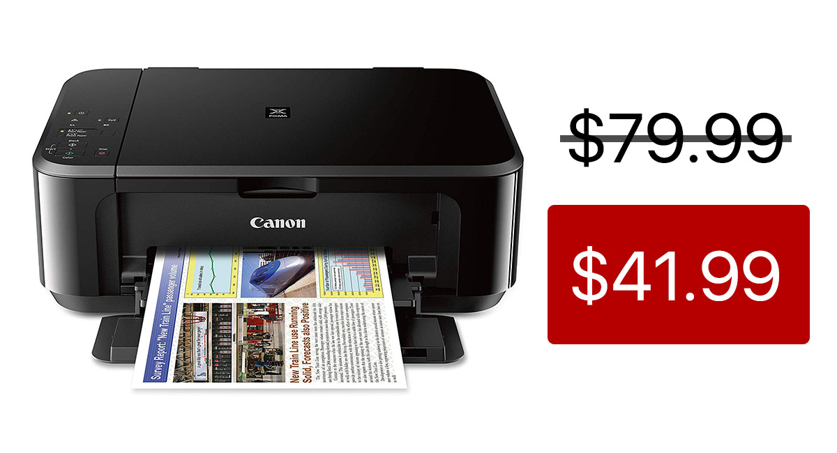 This Canon All-In-One Wireless Printer Supports Apple