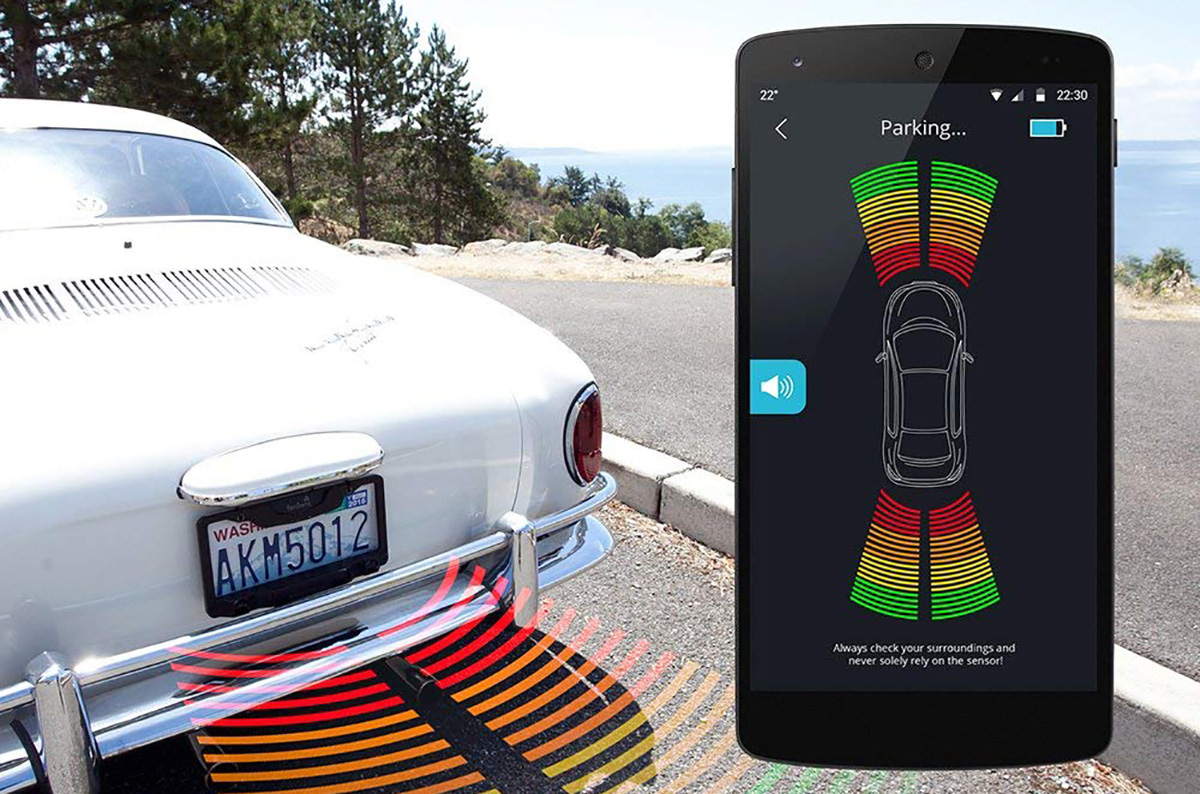 This Aftermarket Car Parking Sensor Is Completely Wireless And