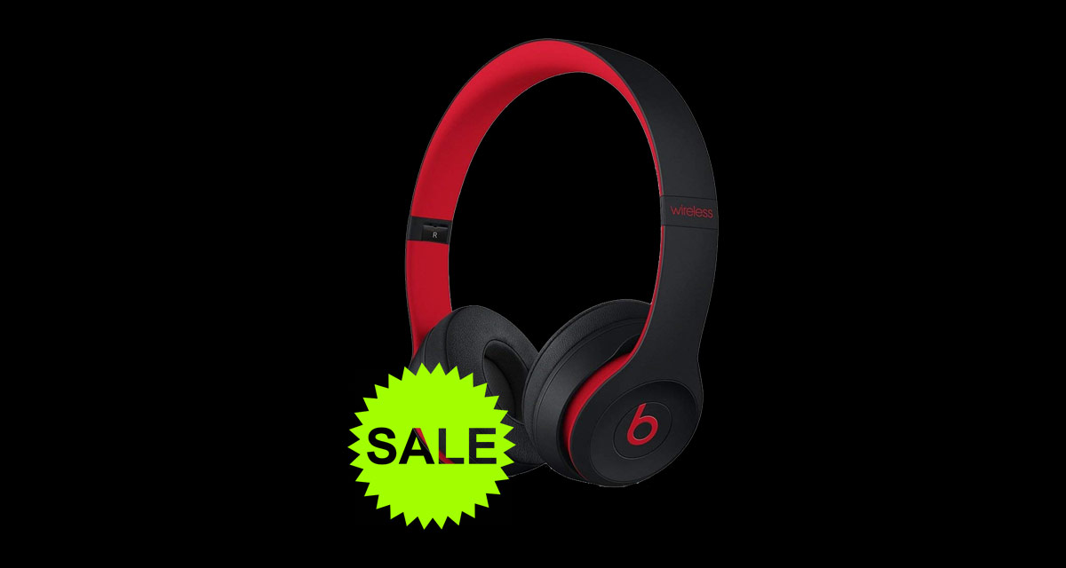 Apple S W1 Powered Beats Solo3 Wireless Headphones Are 80 Off For Black Friday Redmond Pie