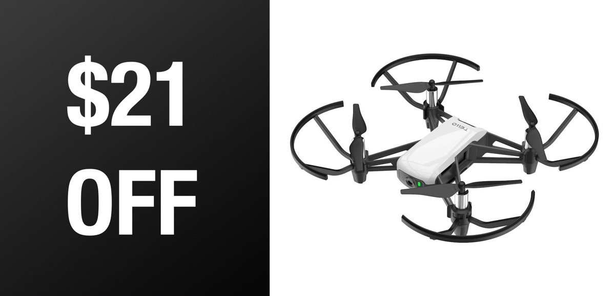 DJI Tello Is A Lot Of Drone For Just $79 - Records Video, Snaps