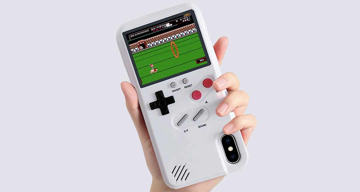 buy online ff006 daf21 Game Boy Color iPhone Case With Built-In 36 Classic Games Is Here ...