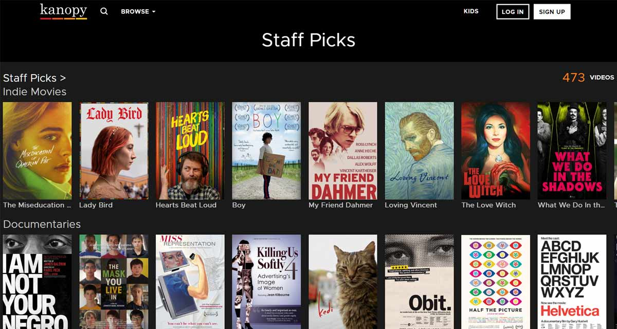 free online movie streaming services