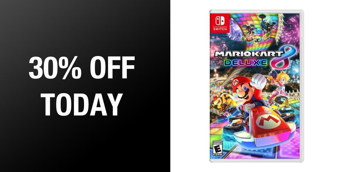 Mario Kart 8 Deluxe Digital Copy For Nintendo Switch Is Just