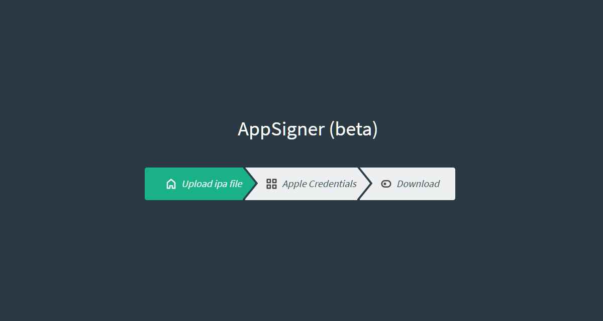 AppSigner Web-Based Cydia Impactor Alternative IPA Signing Tool