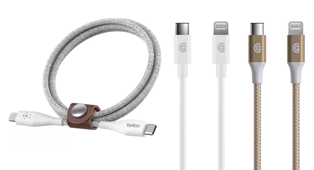new concept 1ac37 a3913 Belkin, Griffin Announce First USB-C To Lightning Cables Backed By ...