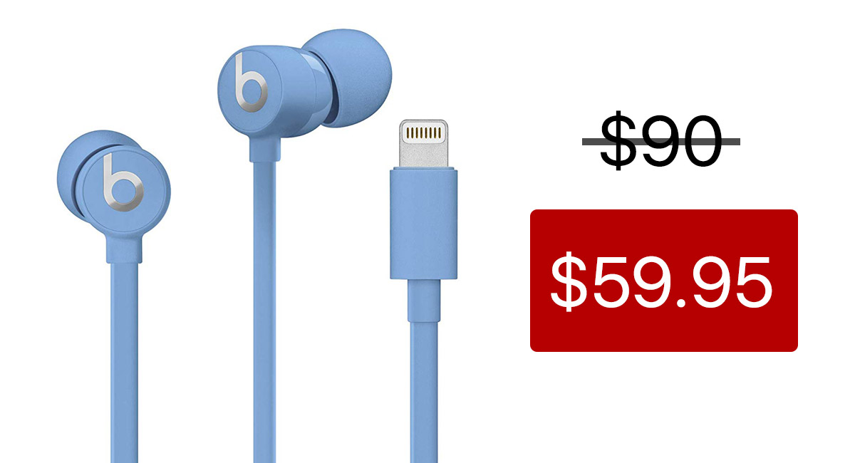Earbuds lightning cable - headphone cable for beats